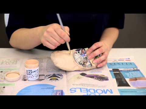 Premier School of Dance: How to paint flat ballet shoes