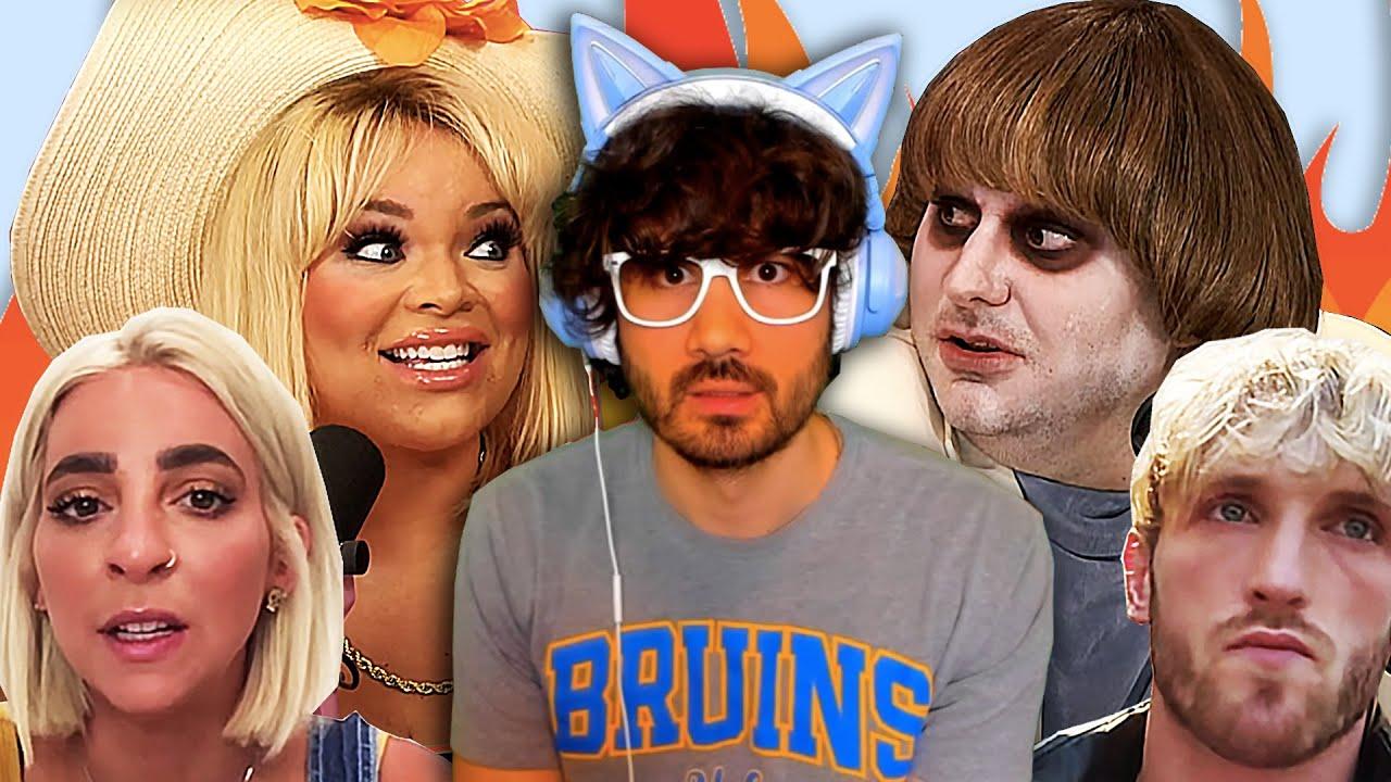 Trisha Paytas and Ethan Klein END FRENEMIES, Gabbie Hanna DATED Taylor Swift's Brother, Logan Paul