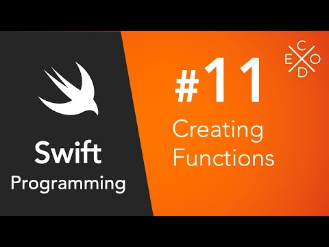 Swift 4 Programming #11 - Functions