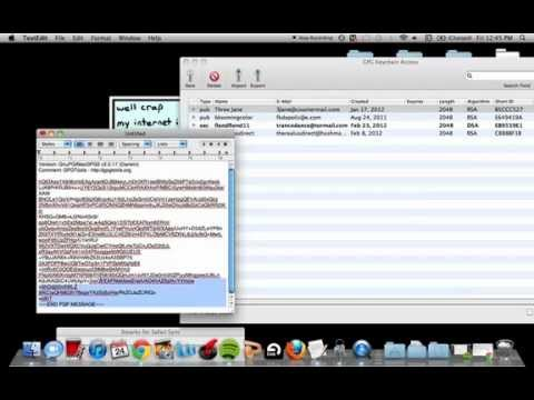 Adding GPG to Services/Encrypting/Decrypting on a Mac