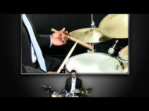How to Hold Your Drumsticks Using Matched and Traditional Grip - Free Drum Lessons