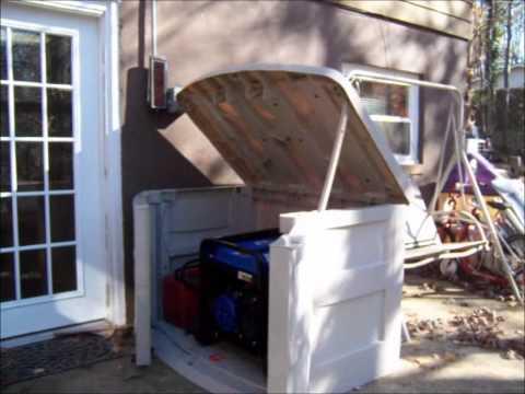 Suncast Generator Utility Shed