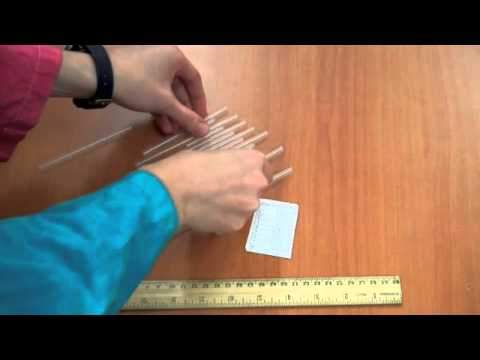Straw Pan Pipes: a fun, at-home science experiment