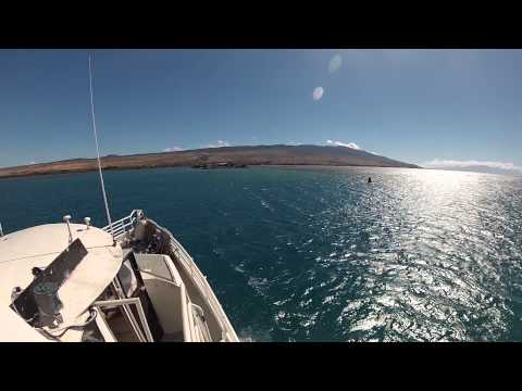 Arriving in Molokai. Kaunakakai Wharf. Molokai, Hawaii