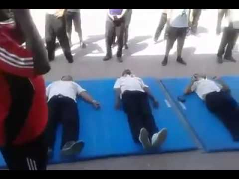 physical fitness exam in dubai security guard