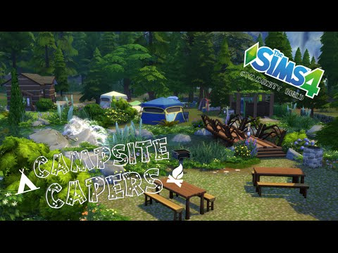 The Sims 4 - Community Build - Campsite Capers