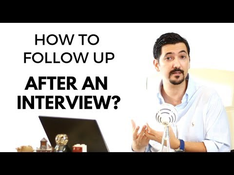 How To Follow Up After An Interview? [Post Interview Follow Up] Learn This #1 Tip ✓