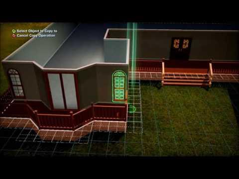 The Sims 3 modern house build