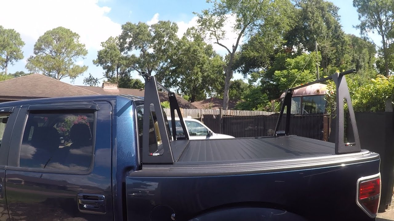 F-150: Install removable ladder rack on Tonneau / Bed Cover