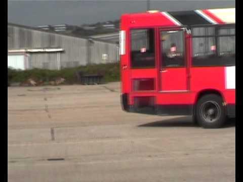 UK bus driving test  reversing exercise