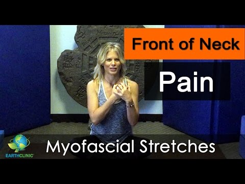 Front Neck Pain Relief | Myofascial Release Stretches