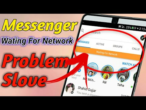 How To Fix Messenger Waiting for network 2019