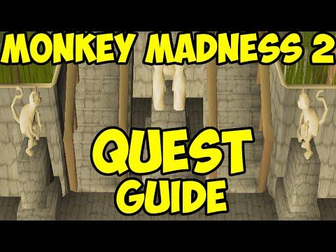 Oldschool Runescape - Monkey Madness 2 Quest Guide / Walkthrough