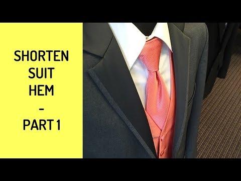 Shorten Business Suit - Part 1