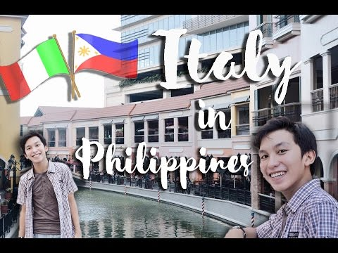 Venice Piazza, McKinley Hill (ITALY in Philippines)