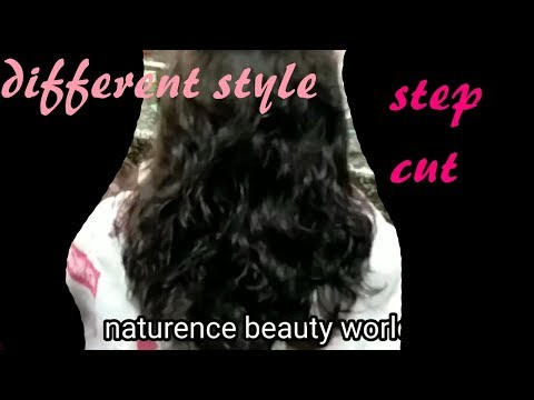 Different Style Step cut for medium hair
