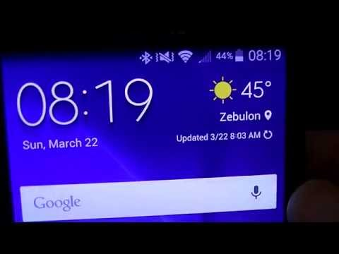 Galaxy S6 weather widget on any Android phone!!!