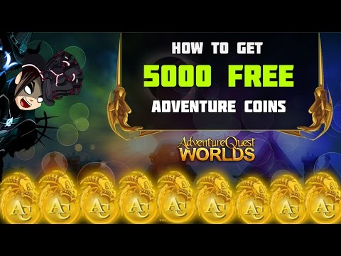 =AQW= How to get 5000 FREE Adventure Coins - Summer 2016