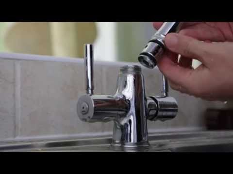 How to Repair Washer in Leaking mixer tap from Base by Removing Neck