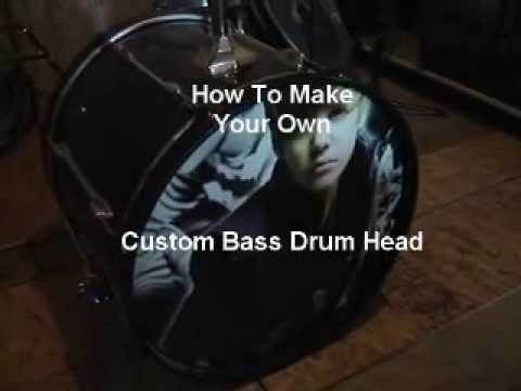 How To Make Your Own Custom Bass Drum Head