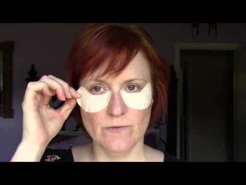 Shiseido - Pure Retinol Express Smoothing Eye Mask Demo/Review.