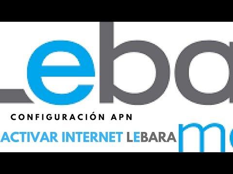 configurar Lebara internet