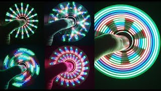 Download Assembling a LED HAND SPINNER, FIDGET TOY at home Video