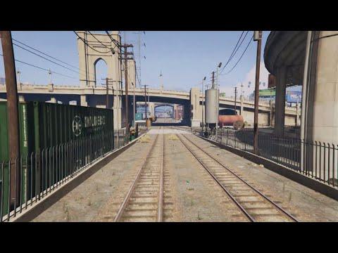 San Andreas Train Timelapse