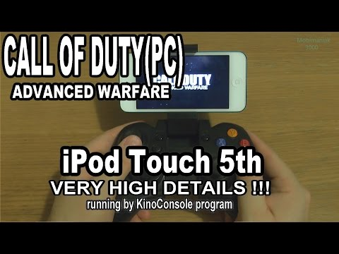 1# Call of Duty: Advanced Warfare (PC) running on iPod Touch 5th - streaming by KinoConsole