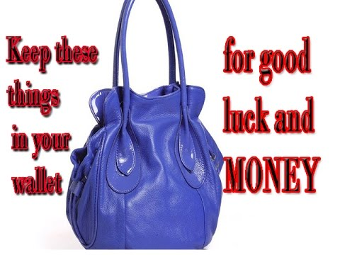 Keep these things in your wallet FOR MONEY AND GOOD LUCK//must watch//