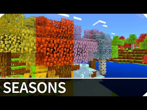 Minecraft Addon of The Week #2: SEASONS ADDON — Addon for MCPE / Minecraft PE 1.4 / 1.3