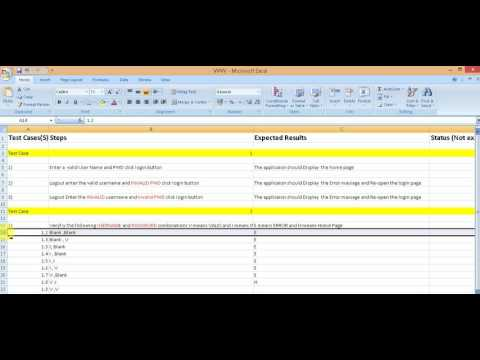 Manual software Testing Part 6 : How to Write Effective Test Cases Quickly