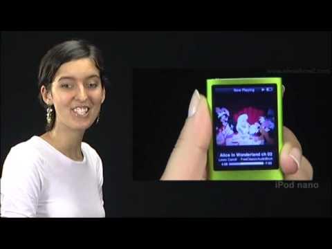 New iPod Nano - How to resume|play audiobooks on iPod Nano