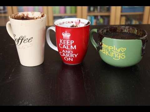 Super Easy Chocolate Mug Cakes (No Baking Required) | Simply Bakings