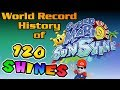 The World Record History of Super Mario Sunshine 100% (120 Shines)