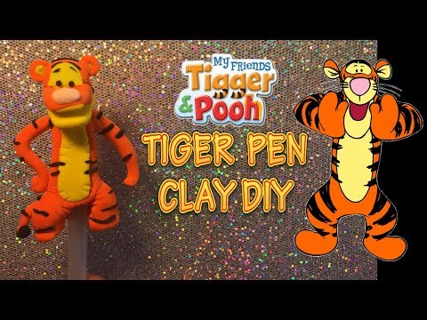 HOW TO MAKE TIGER TUTORIAL | CLAY FIGURINE | TOPPER | Cup n Cakes Gourmet