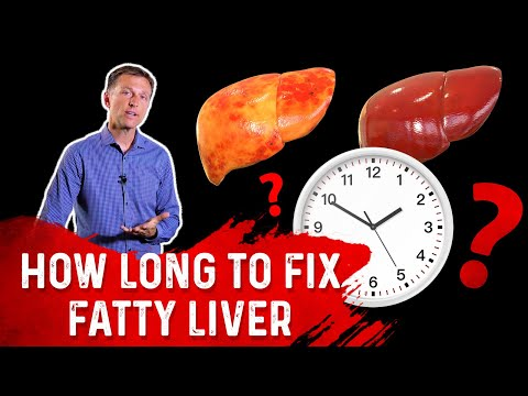 How Long Does it Take to Fix a Fatty Liver?