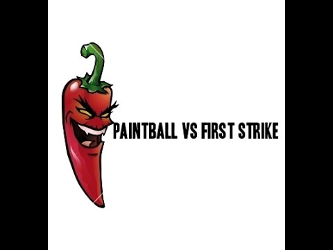 Paintball vs First Strike Round