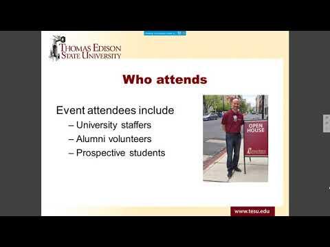 Alumni: Opportunities to get Involved Webinar | Thomas Edison State University