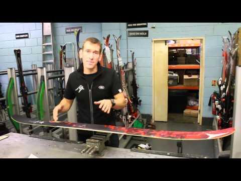 Where to mount your ski bindings - Al's Skiing Tips