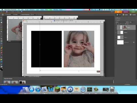How to create of photo collage in Photoshop Elements.mp4