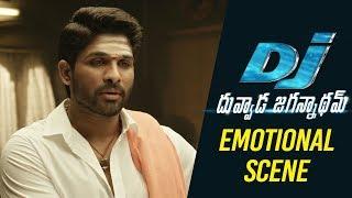 DJ Duvvada Jagannadham Scenes - Allu Arjun Emotional Scene with Vennela Kishore Parents
