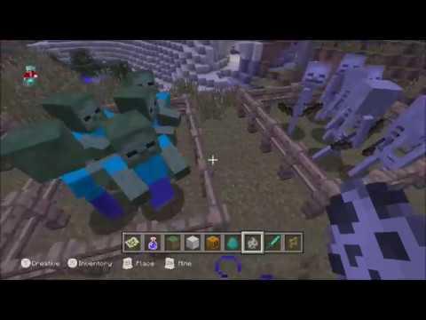 Minecraft Wii U Edition: Mob Fights