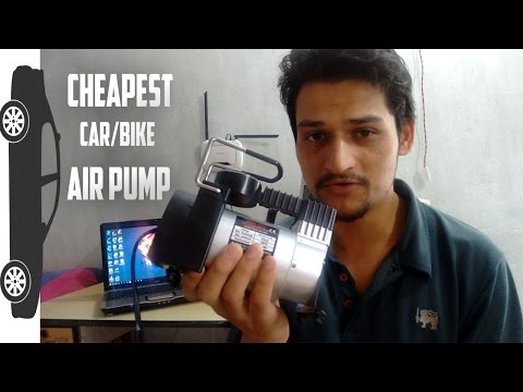 12V Car Bike Tyre Air Compressor Pump from Shopclues - Unboxing | CreatorShed