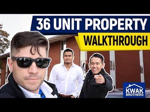 Newly Acquired 36 Unit Property Walkthrough (Multifamily)