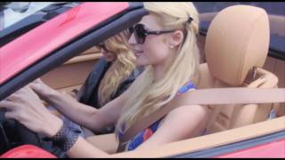 Paris Hilton Takes Brand New Red Ferrari For A Spin