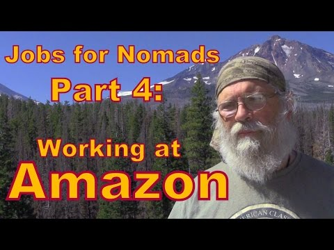 Working at Amazon For the Holidays: Jobs for Nomads