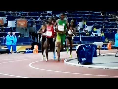 Semenya wins 800m women's final. Kenya takes silver.