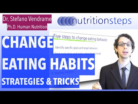 Strategies and Tricks to Change our Eating Habits