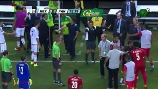 Penal súper polémico a favor de México   Panamá VS México Copa Oro 2015